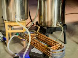 copper counterflow chiller build