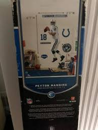 Peyton Manning Colts Fathead Removable Life Size Wall Decal Plaques Signs Baltimore Maryland Facebook Marketplace Facebook