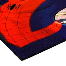 Shop Marvel Spiderman Multicolor Printed Polyester Kids Area Rug By Gertmenian 4 6 X 6 6 4 X 6 Surplus Overstock 14426641
