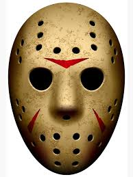 Jason Voorhees Mask Hockey Mask Greeting Card By Clothingsimple Redbubble