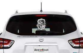 Harry Potter Hufflepuff Crest Vinyl Decal Rebel Rd Auth