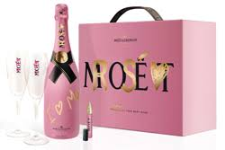 loved one with moët chandon