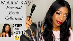 new mary kay essential brush collection