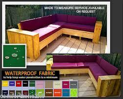 bench seat cushion 100cm x 55cm