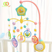 guyu baby rattles bed bell baby bell