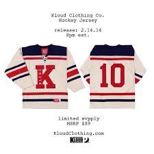 kloud clothing reveals uping hockey