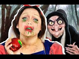 snow white poisoned makeup tutorial