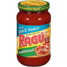 ragu pizza quick traditional snack