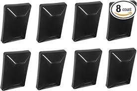Jsp Manufacturing Fence Post Plastic Black Cap 4x6 3 5 8 X 5 5 8 Fits Treated Posts Multipack Wholesale Bulk Pricing 8 Amazon Com