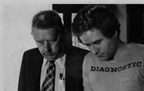 Ted Bundy following his re-capture, exact date unknown. : serialkillers