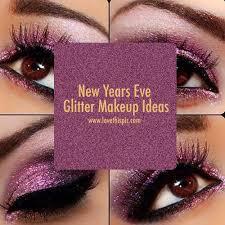 new years eve glitter makeup ideas