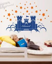 Prince Castle With Name Wall Decal