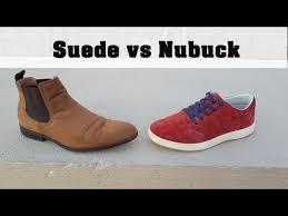 suede vs nubuck you