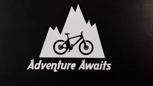 Bicycle Vinyl Decal Cycling Decal Bike Sticker Bike Helmet Sticker Car Decal Truck Decal Mountain Bike Adventure Deca Bike Stickers Bike Quotes Bike Art