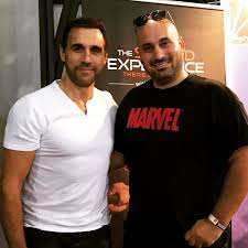 "Paul Democritou on Twitter: ""Met Adrian Paul, Duncan Macleod from The  Highlander Series - Great guy, noticed he had #swords with him. There can  only be one! #highlander #actor #holliwood #series #samurai #"