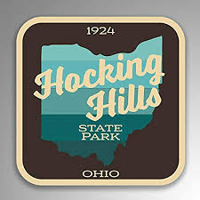 Amazon Com Jb Print Hocking Hills State Park Explore Wanderlust Camping Hiking Ohio Vinyl Decal Sticker Car Waterproof Car Decal Bumper Sticker 5 Kitchen Dining