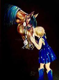 Andy's Contenporary Equine Art ~ PORTRAITS