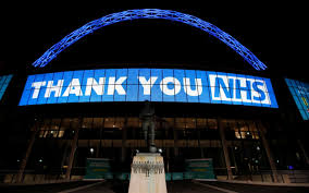 NHS with tonight's Clap for Carers