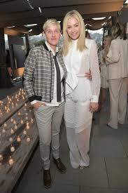 Ellen DeGeneres and Portia de Rossi at LA Event June 2018   POPSUGAR  Celebrity