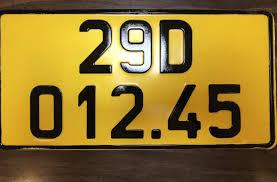 Tài xế được giữ nguyên số khi đổi biển màu vàng - VnExpress