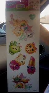 Shopkins Wall Decal Sticker Sprinkle Party Room Decorations 7 Stickers On Sheet 34878626932 Ebay