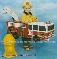 coolest homemade firefighter costume