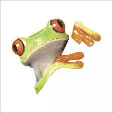Vova 3d Peep Frog Funny Car Stickers Truck Window Decal Graphics Decals