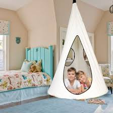 China Kids Nest Swing Chair Nook Hanging Seat Hammock For Indoor Outdoor Use Great For Children All Accessories Included White China Leisure Hammock And Outdoor Hammock Price
