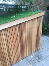 Slot In Bike Shed With Living Roof Contemporary Garden Shed And Building London By Brighton Bike Sheds Houzz Uk