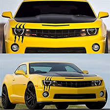Amazon Com Knd Claw Marks Decals Car Monster Reflective Stickers Scratch Stripe For Cars Funny Scratch Waterproof Headlight Decal Vinyl Reflective Sticker Decal For Car Headlamp Kitchen Dining