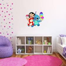 Amazon Com Lilo Stitch Wall Graphic Decal Sticker 25 X 22 Home Kitchen