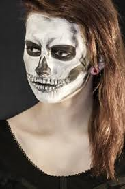 skeleton face painting lovetoknow