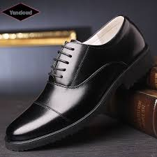 genuine leather shoes breathable