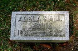 Adela A Hall Leslie (1851-1927) - Find A Grave Memorial