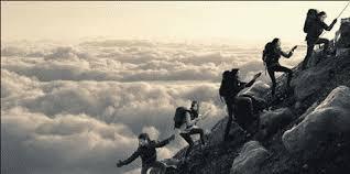 istilah pendakian dalam bahasa inggris dan artinya