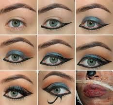 egyptian eyes makeup tutorial
