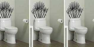 Turn Your Toilet Into The Iron Throne With This Game Of Thrones Decal