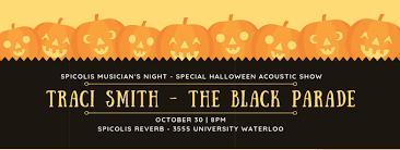 Traci Smith – The Black Parade – Musician's Night Halloween – Spicolis  Reverb