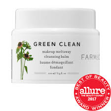 green clean makeup removing cleansing