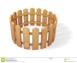 Wooden Fence 3d Model Stock Illustration Illustration Of Fence 22816142