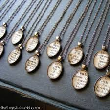 vintage dictionary necklaces one of my
