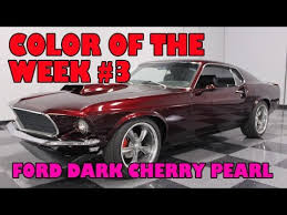 ford dark cherry pearl color of the