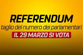 Elezioni per Referendum 29 Marzo 2020 - Comune Gravina in Puglia