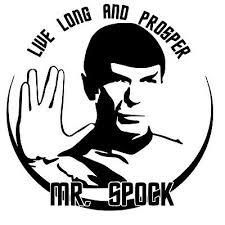 Leonard Nimoy Spock Vinyl Decal Sticker Car Window Bumper Wall Laptop Star Trek Ebay