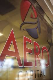 Aero Capital Window Decal At Pensacola Sign We Can Make Any Type Of Vinyl Graphics Imaginable In Nearly Any Possible Q Print Decals Vinyl Lettering Lettering