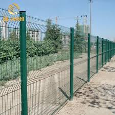 China Pvc Coated Green Red Yellow Color 3d Metal Wire Mesh Fence Panels China Wire Mesh Fence Panels Welded Wire Mesh Fence