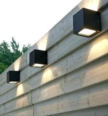Solar Fence Lights For Garden Lighting Led Decor Architecture Powered Amazon Backyard Lighting Backyard Fences Fence Lighting