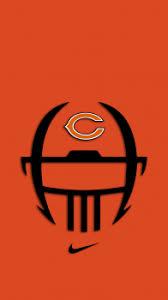 chicago bears wallpaper iphone x