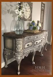 antique white french country sideboard
