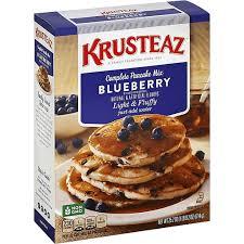 krusteaz pancake mix plete